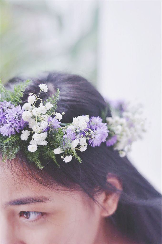 Hairpiece by Tiffany's Flower Room - 003