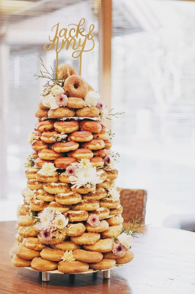 Doughnut Tower by Dough Darlings - 001