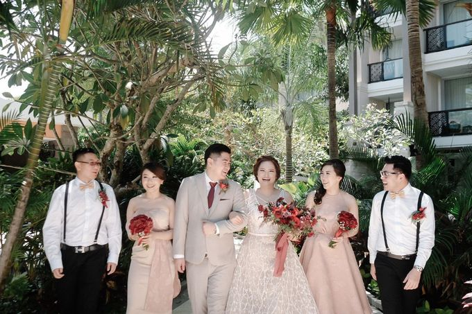Wedding Day by Yos - Philip Janet by Sofitel Bali Nusa Dua Beach Resort - 010
