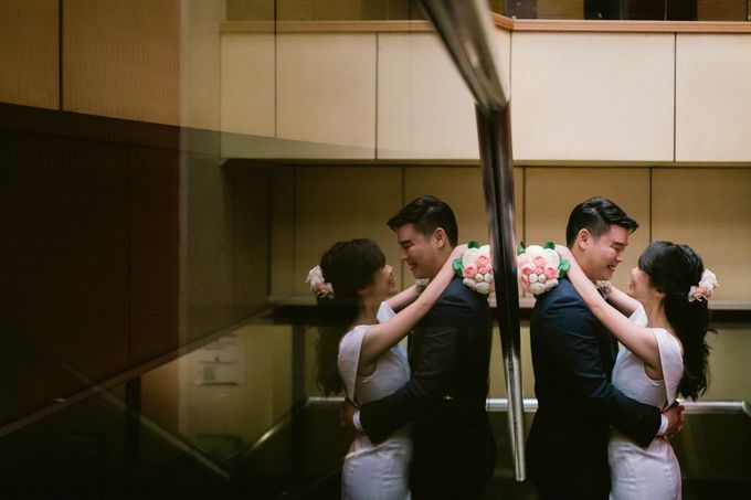 Wedding - Augustine & Xin Er by Alan Ng Photography - 002