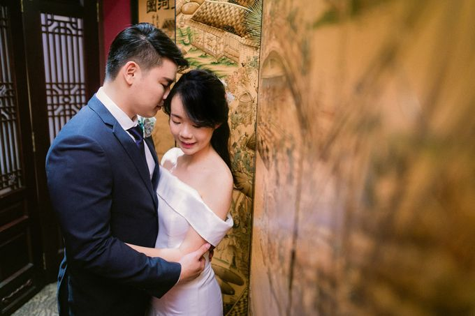 Wedding - Augustine & Xin Er by Alan Ng Photography - 004