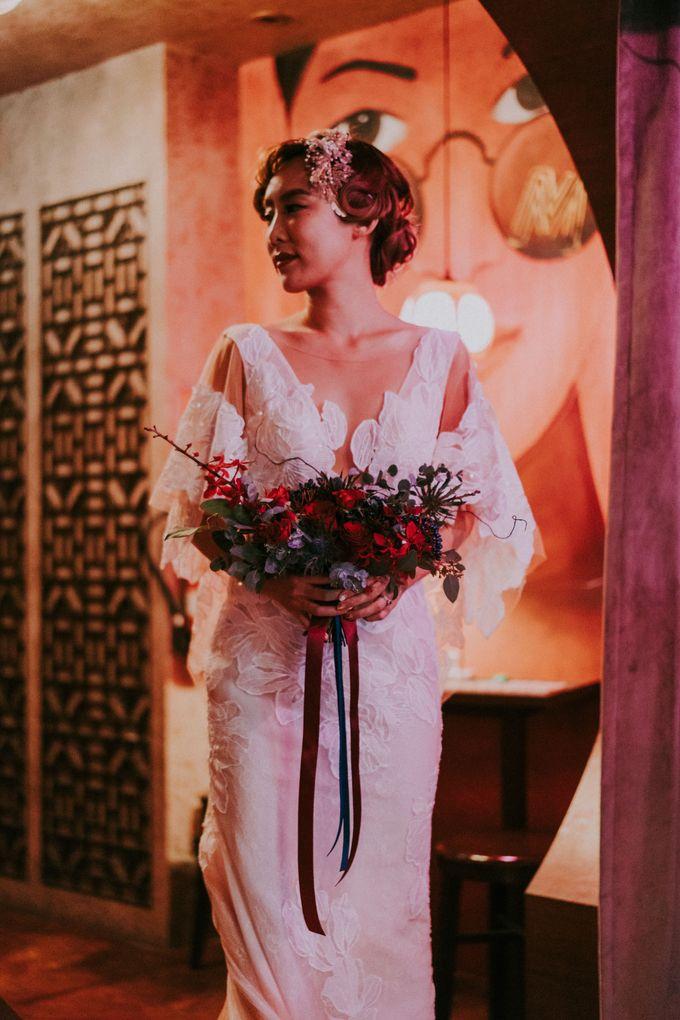 Modern Oriental Pre-Wedding by Makeup Maestro Weddings - 030