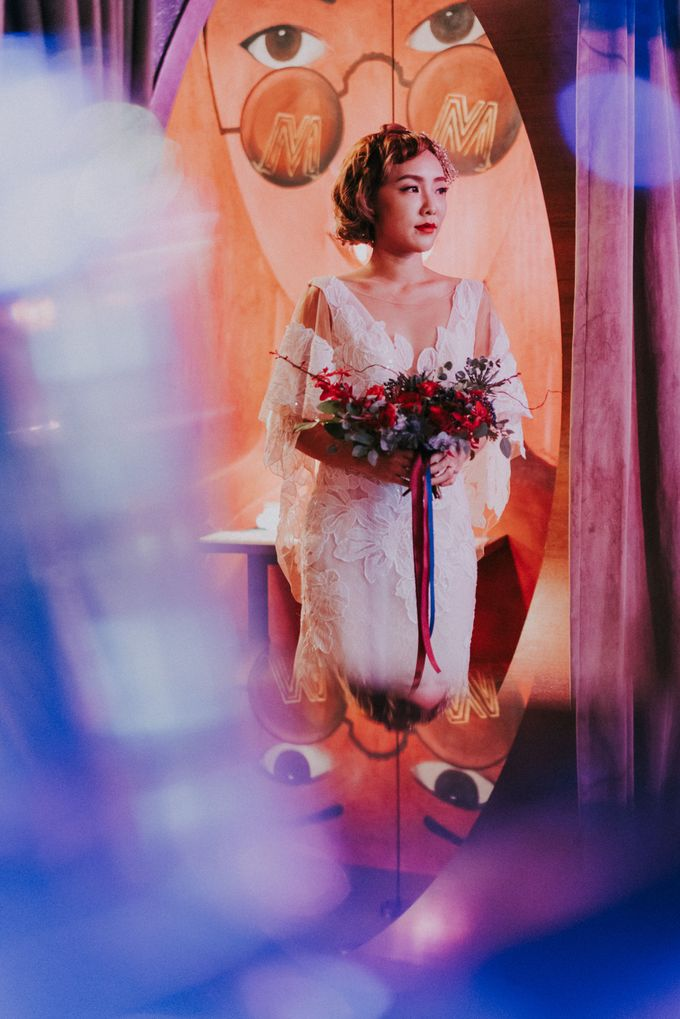 Modern Oriental Pre-Wedding by Makeup Maestro Weddings - 029