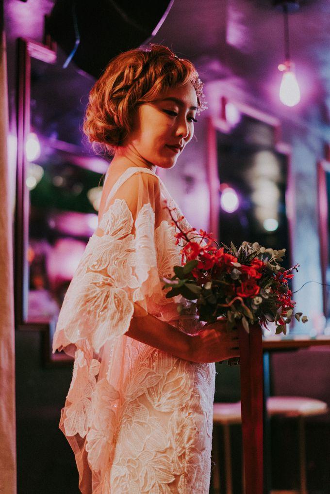Modern Oriental Pre-Wedding by Makeup Maestro Weddings - 028