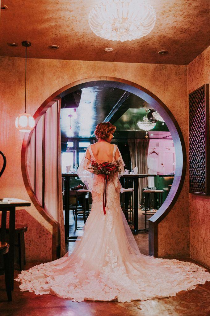 Modern Oriental Pre-Wedding by Makeup Maestro Weddings - 027