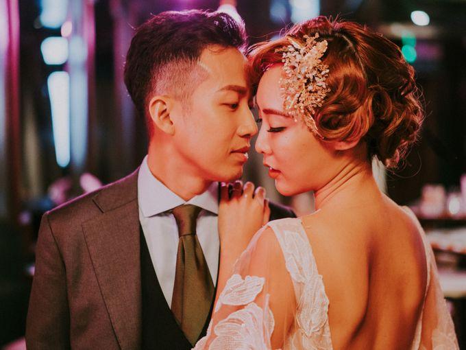 Modern Oriental Pre-Wedding by Makeup Maestro Weddings - 025