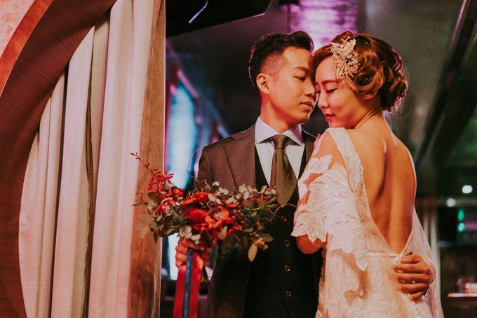 Modern Oriental Pre-Wedding by Makeup Maestro Weddings - 023