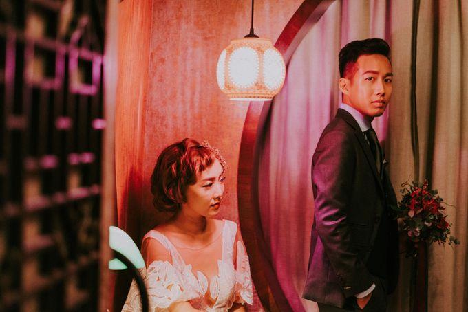 Modern Oriental Pre-Wedding by Makeup Maestro Weddings - 022