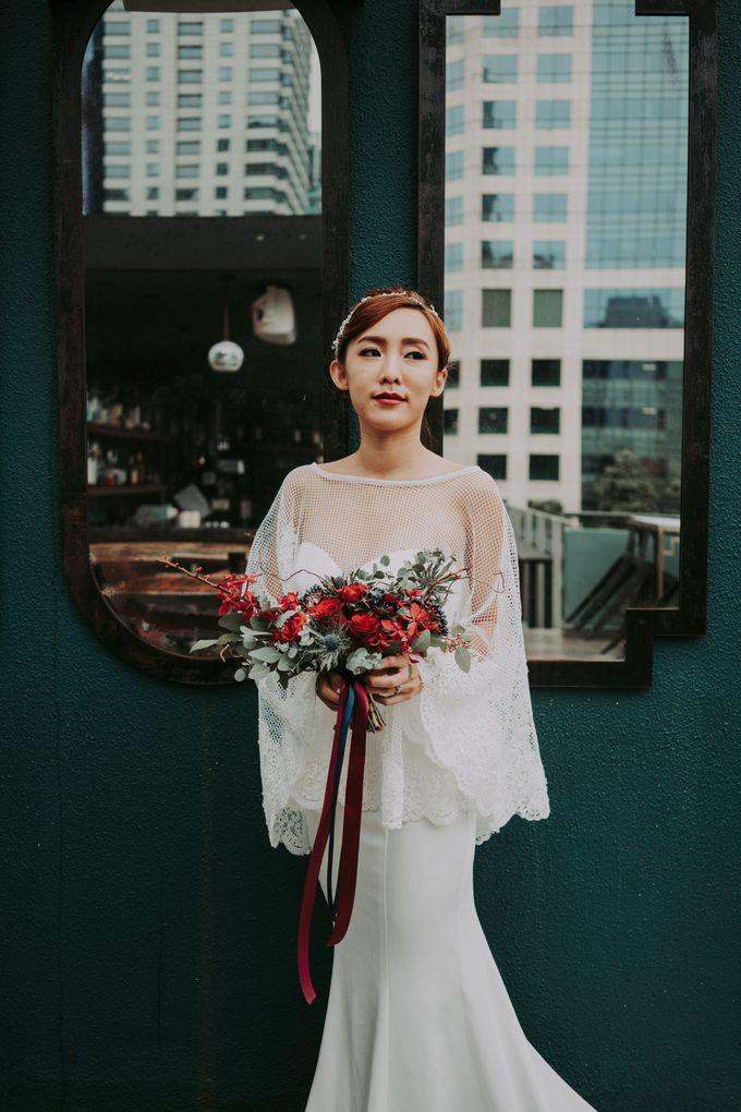 Modern Oriental Pre-Wedding by Makeup Maestro Weddings - 020