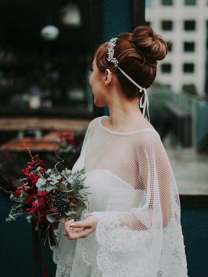 Modern Oriental Pre-Wedding by Makeup Maestro Weddings - 019