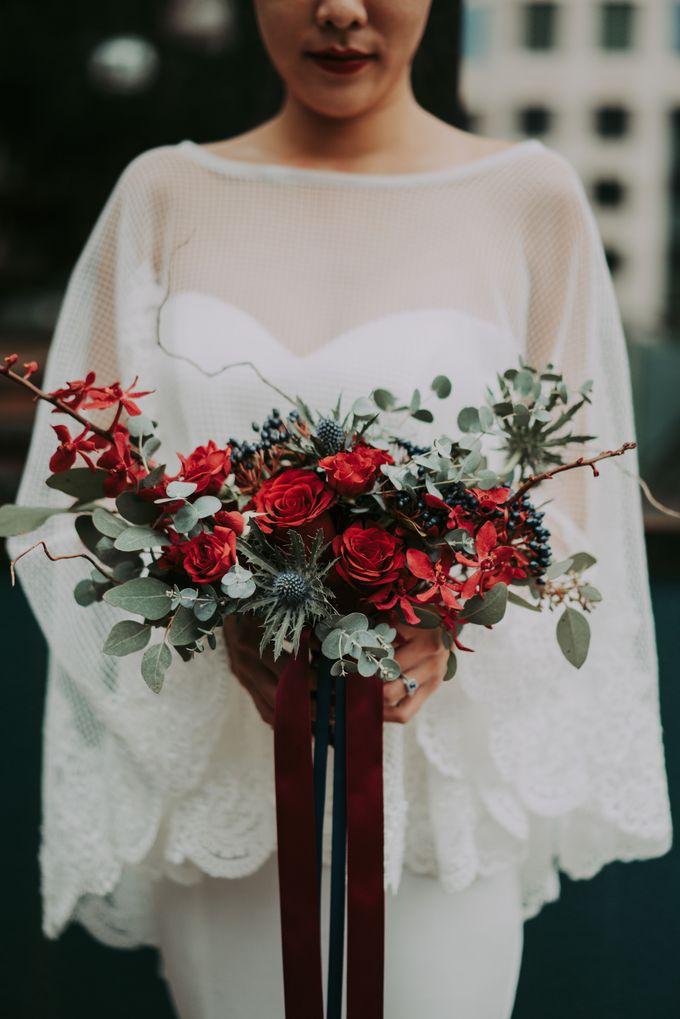 Modern Oriental Pre-Wedding by Makeup Maestro Weddings - 018