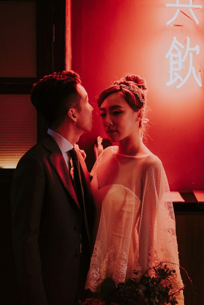 Modern Oriental Pre-Wedding by Makeup Maestro Weddings - 017