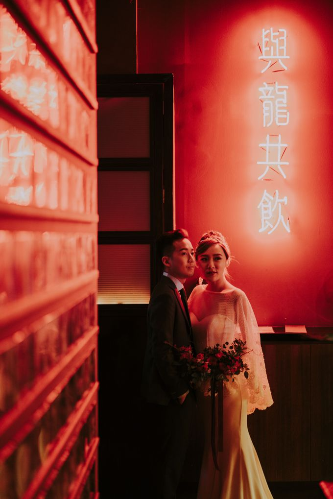 Modern Oriental Pre-Wedding by Makeup Maestro Weddings - 016