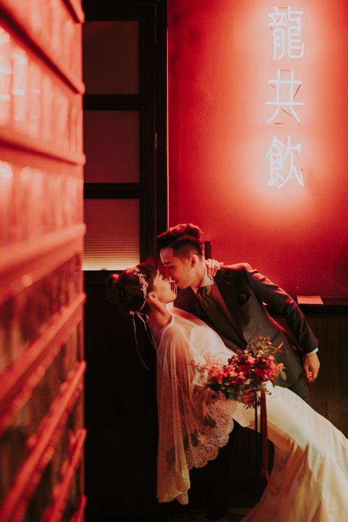 Modern Oriental Pre-Wedding by Makeup Maestro Weddings - 015