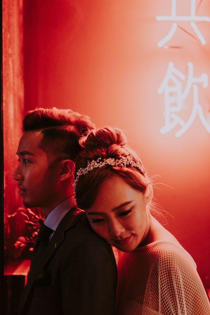 Modern Oriental Pre-Wedding by Makeup Maestro Weddings - 014