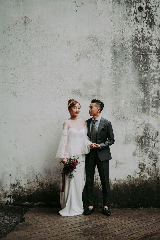 Modern Oriental Pre-Wedding by Makeup Maestro Weddings - 013