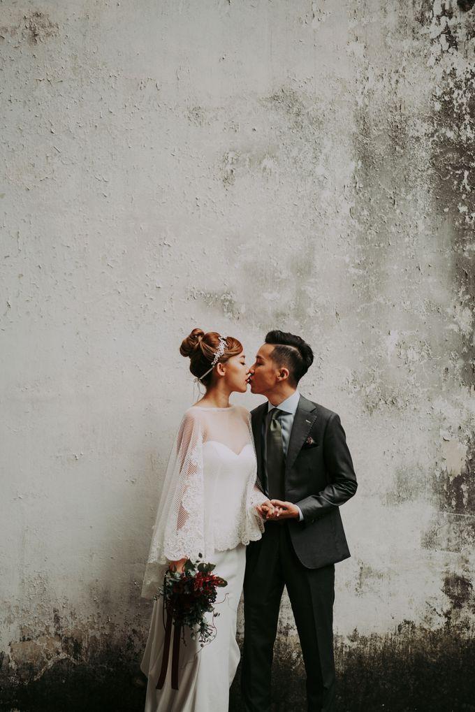 Modern Oriental Pre-Wedding by Makeup Maestro Weddings - 012