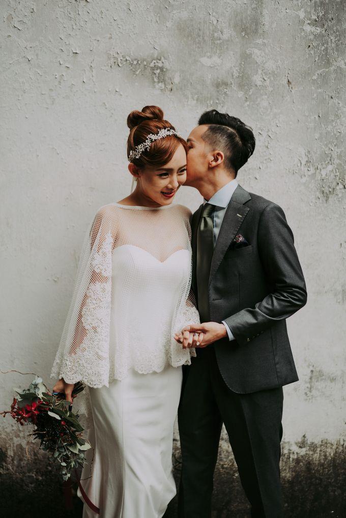 Modern Oriental Pre-Wedding by Makeup Maestro Weddings - 011