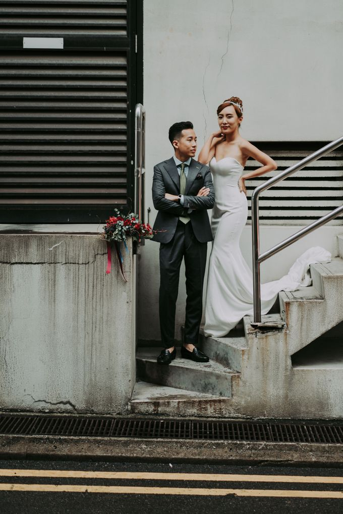 Modern Oriental Pre-Wedding by Makeup Maestro Weddings - 007