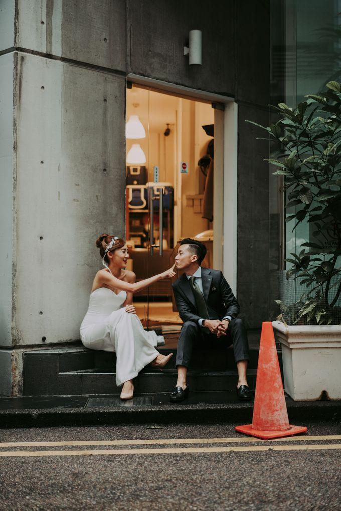 Modern Oriental Pre-Wedding by Makeup Maestro Weddings - 006