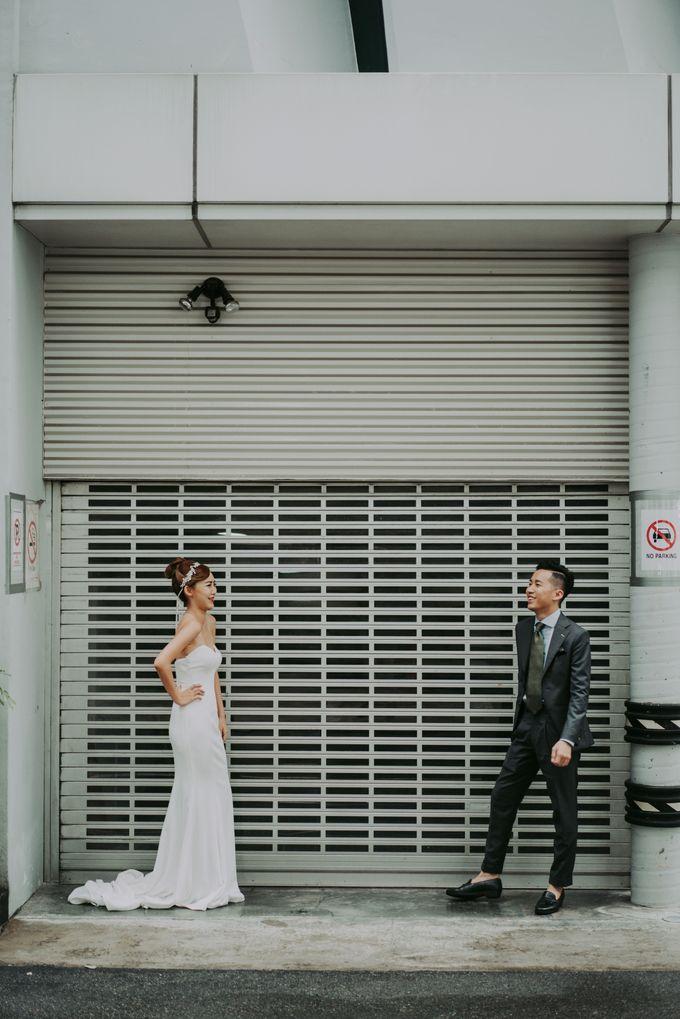 Modern Oriental Pre-Wedding by Makeup Maestro Weddings - 005