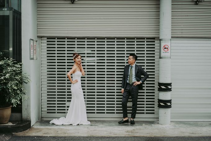 Modern Oriental Pre-Wedding by Makeup Maestro Weddings - 004