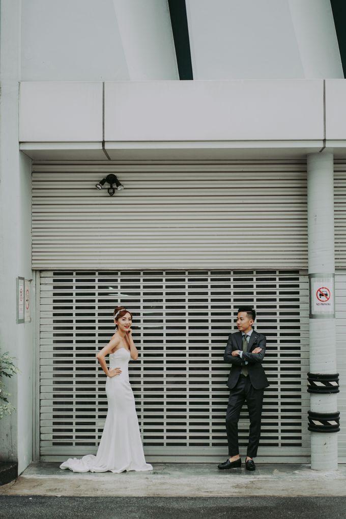 Modern Oriental Pre-Wedding by Makeup Maestro Weddings - 003