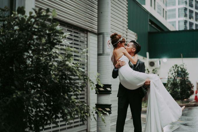 Modern Oriental Pre-Wedding by Makeup Maestro Weddings - 002