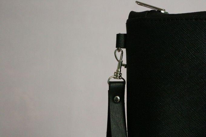 Leather Pouch Zipper by Mewah Souvenir - 007