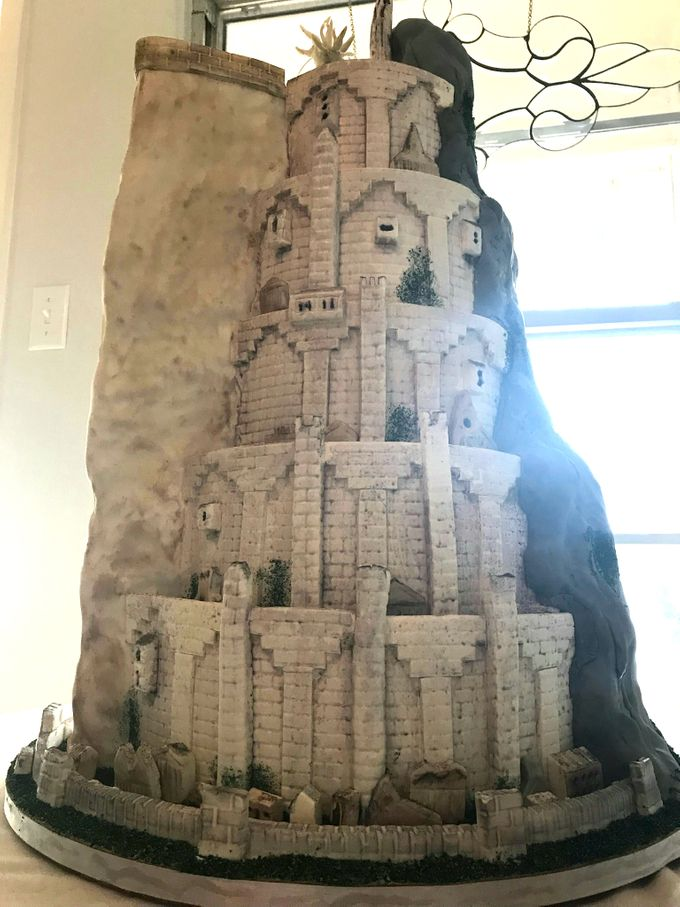 Wedding and Grooms' Cakes by Cakes ROCK!!! - 020