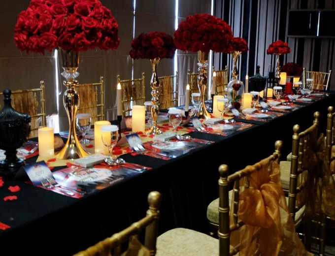 ANGEL LELGA BRIDAL SHOWER DECORATION by FIORE & Co. Decoration - 003