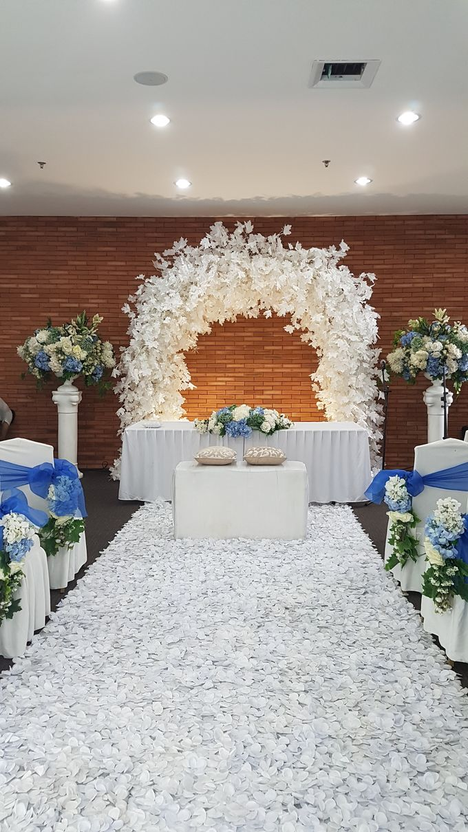 Andy & Novita Wedding by United Grand Hall - 035