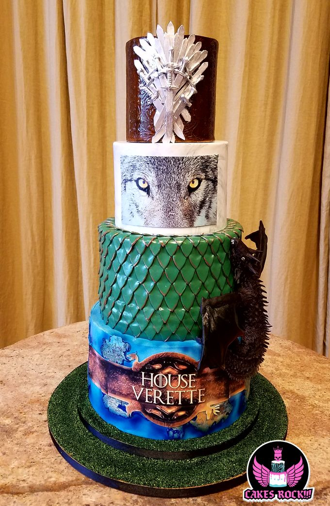 Wedding and Grooms' Cakes by Cakes ROCK!!! - 040