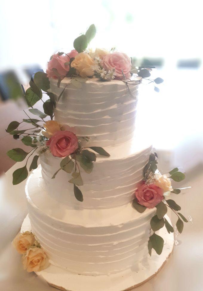 Happy Wedding To Chicco Jerikho N Putri Marino by Sugaria cake - 001