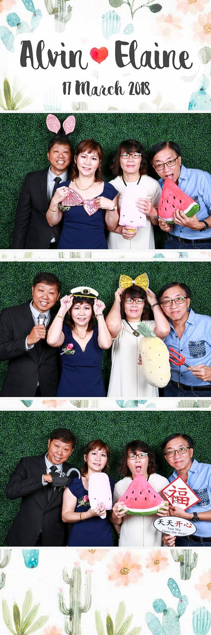 Alvin & Elaine Wedding Photo Booth by Hotel Jen Tanglin, Singapore - 004
