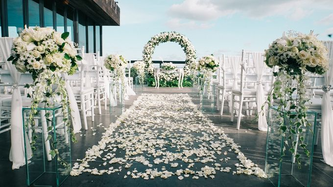 Wedding Emma & Matt  4 April 2018 by Anantara Seminyak Bali Resort - 004
