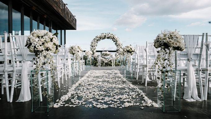 Wedding Emma & Matt  4 April 2018 by Anantara Seminyak Bali Resort - 006