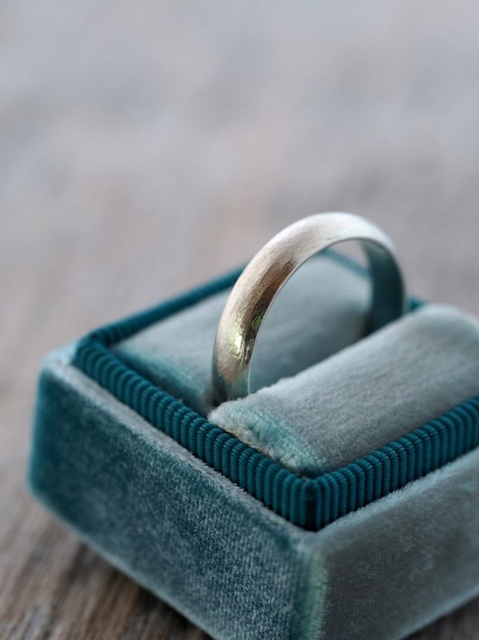 Wedding Band in Silver by Gardens of the Sun - 002