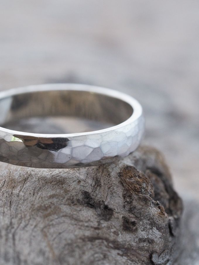 Wedding Band in Silver by Gardens of the Sun - 003