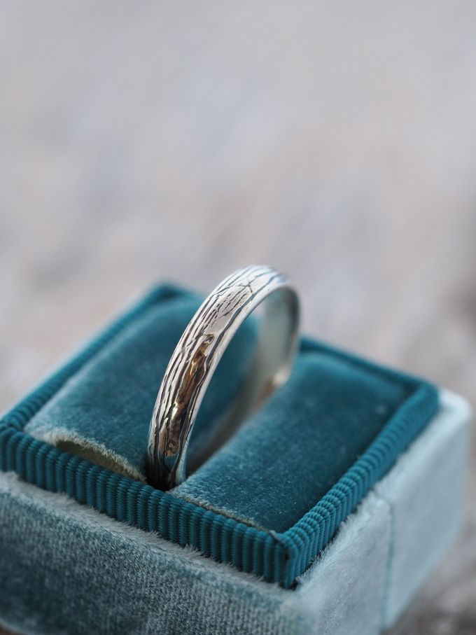 Wedding Band in Silver by Gardens of the Sun - 008