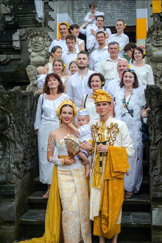 TATYANA & VLAD ( RUSSIAN BALINESE WEDDING ) by Visesa Ubud - 008