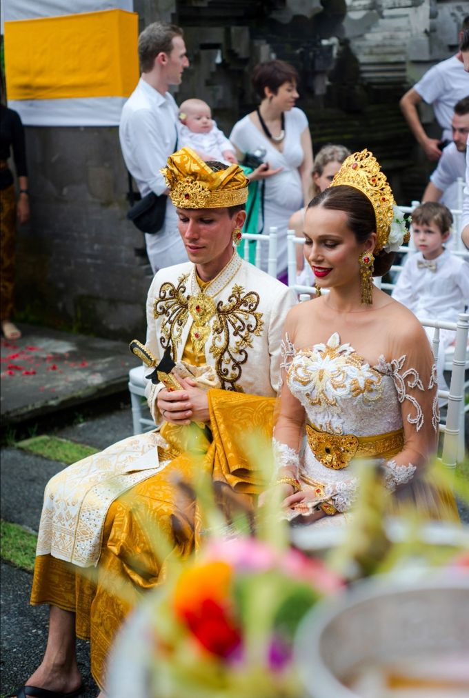 TATYANA & VLAD ( RUSSIAN BALINESE WEDDING ) by Visesa Ubud - 006