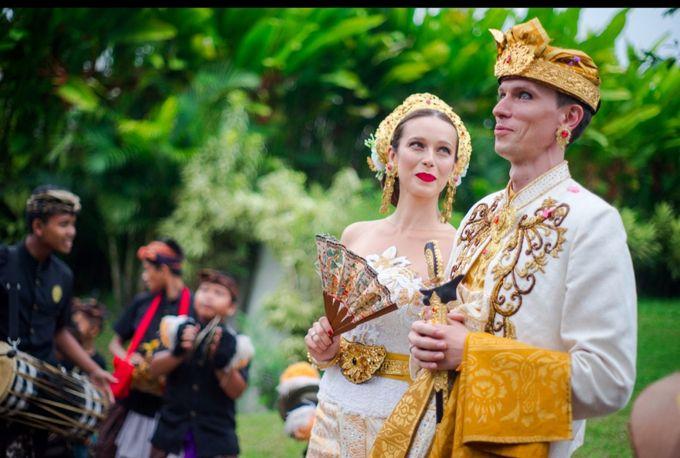 TATYANA & VLAD ( RUSSIAN BALINESE WEDDING ) by Visesa Ubud - 002
