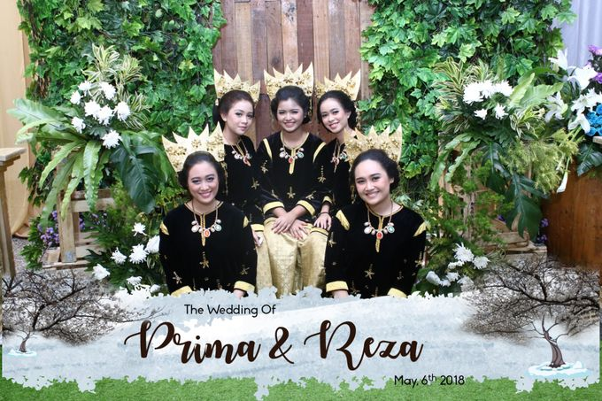 Prima & Reza Wedding by snaphot official photobooth - 001