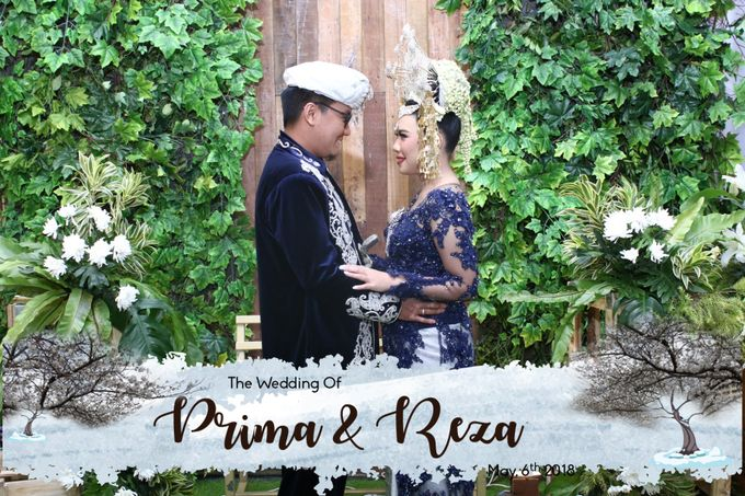 Prima & Reza Wedding by snaphot official photobooth - 002