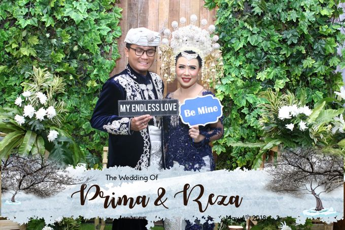 Prima & Reza Wedding by snaphot official photobooth - 003