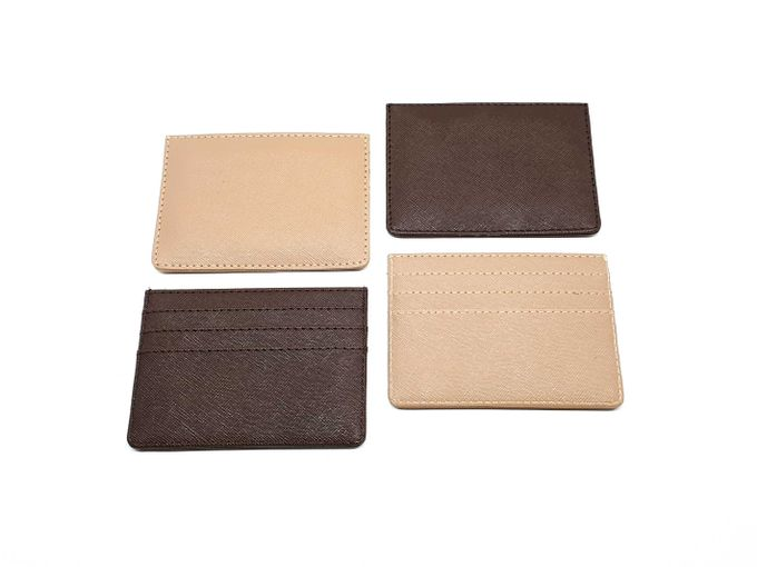 Card Holder 4 Selipan Brown Series by Sae Handmade - 001
