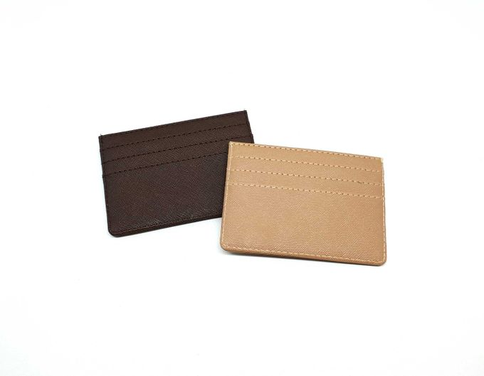 Card Holder 4 Selipan Brown Series by Sae Handmade - 002