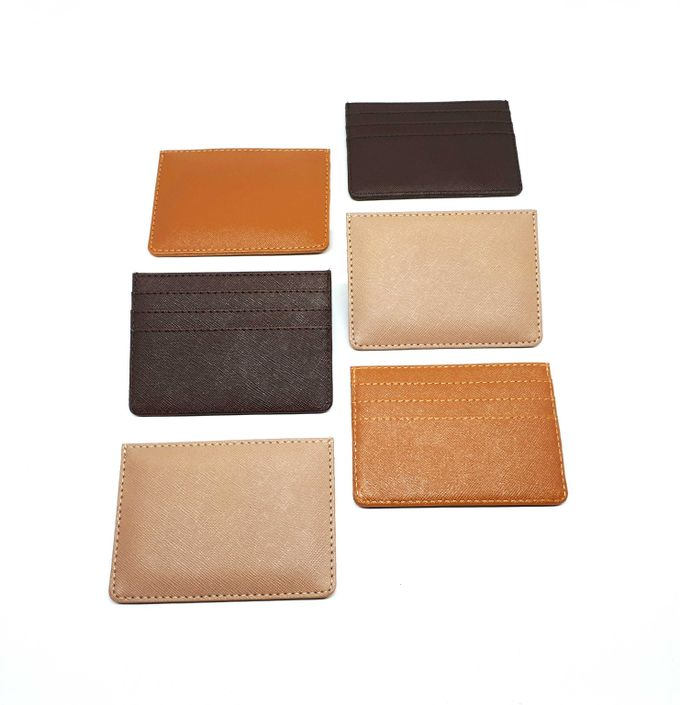 Card Holder 4 Selipan Brown Series by Sae Handmade - 003
