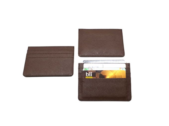 Card Holder 4 Selipan Brown Series by Sae Handmade - 004